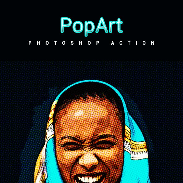 PopArt - Photoshop Action