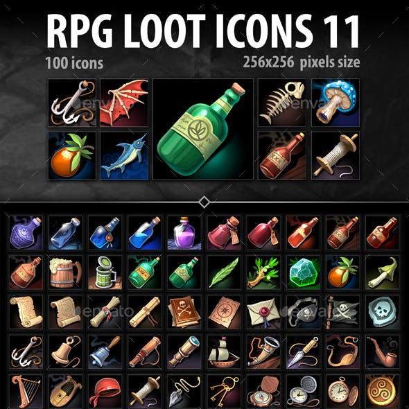 RPG Loot Icons 11