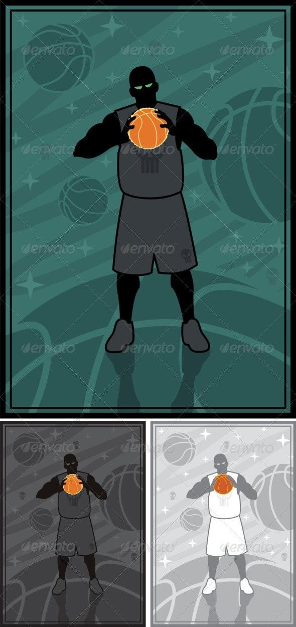 Streetball - Sports/Activity Conceptual