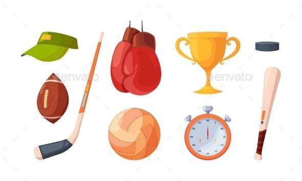 Sport Activities - Miscellaneous Vectors