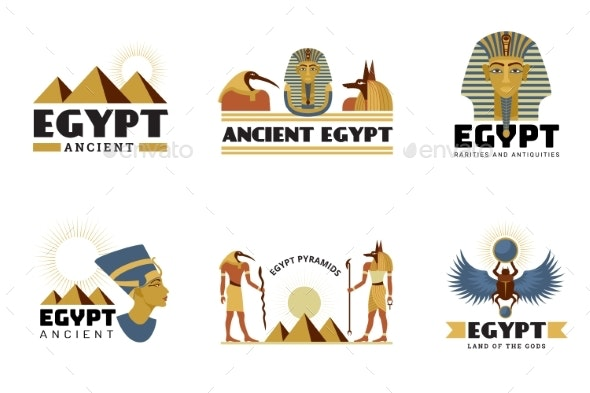 Egypt Stickers - Miscellaneous Vectors