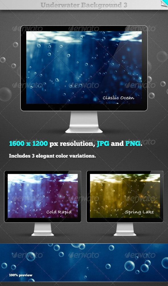 Underwater Background 3 - Nature Backgrounds