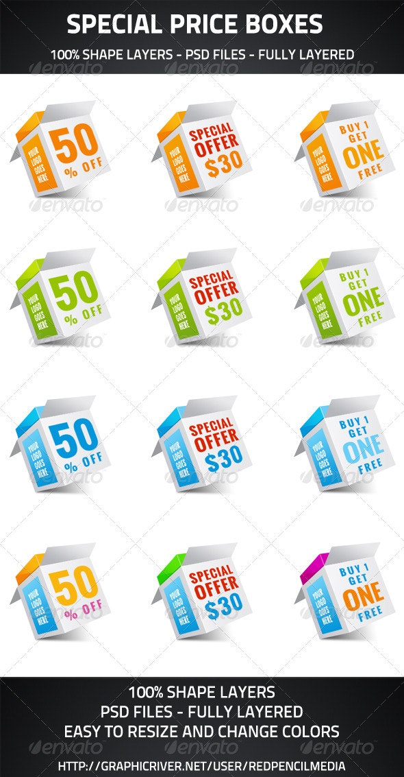 Special Price Boxes - Miscellaneous Web Elements