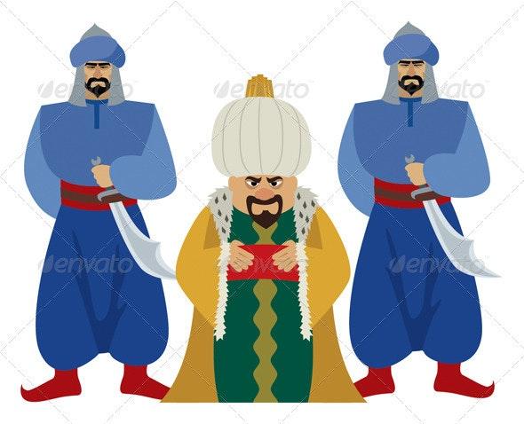 Sultan - Characters Vectors