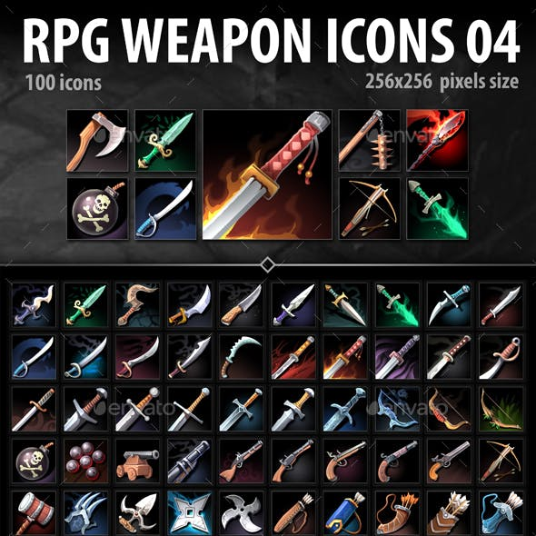RPG Weapon Icons 04