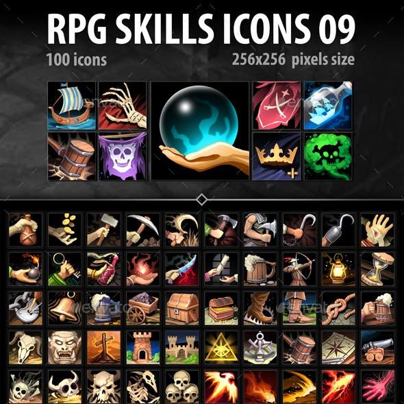 RPG Skills Icons 09