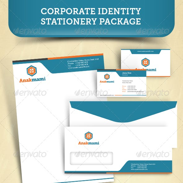 Corporate Identity Stationery Package