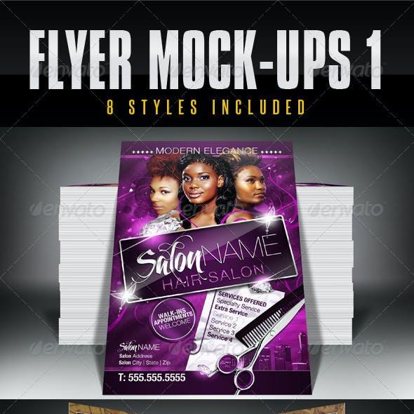 Flyer Mock-Ups 1
