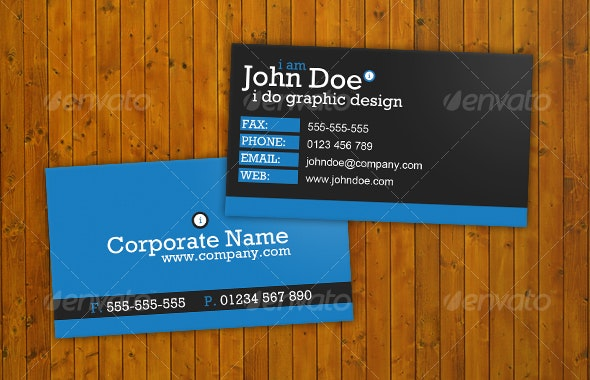 Bright, Bold Business Card - Creative Business Cards