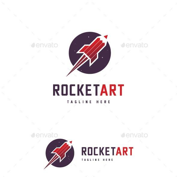Rocket Pencil Logo