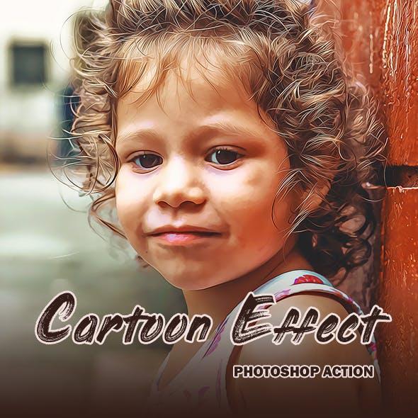Cartoon Effect - Photoshop Action