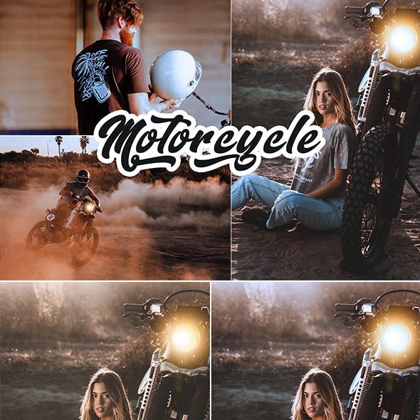 Motorcycle Photoshop Action