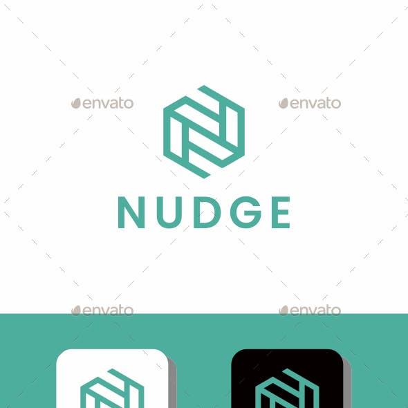 Logo Letter N - NUDGE