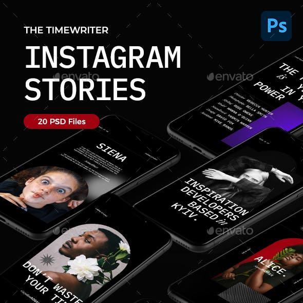 The Timewriter – Instagram Stories