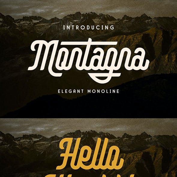 Montagna - Elegant Monoline