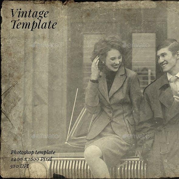 Vintage Photo Template