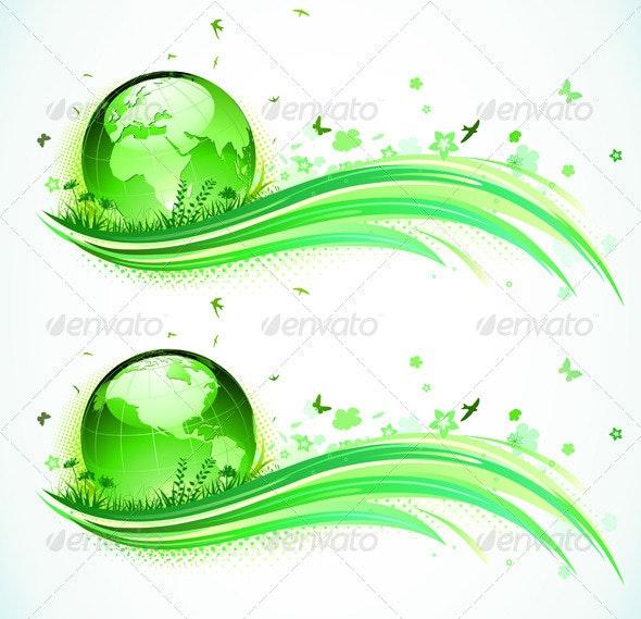 Eco background  - Nature Conceptual