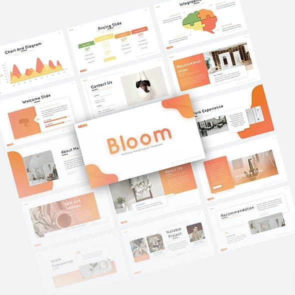 Bloom Portfolio Presentation Template