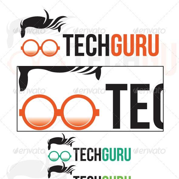 Tech Guru Logo Template