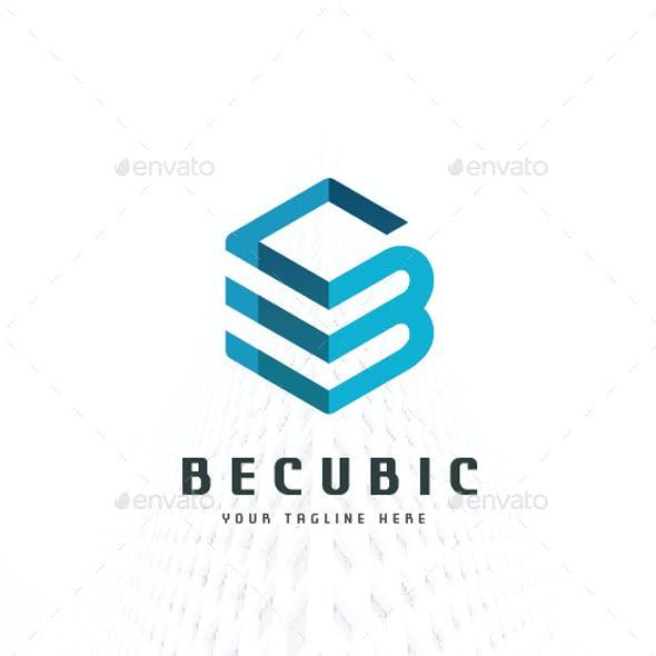 Letter B Cubic Logo