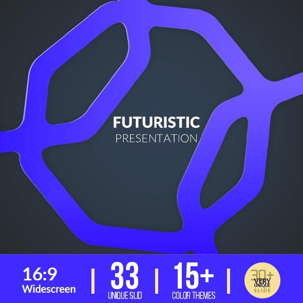Futuristic Presentation Template