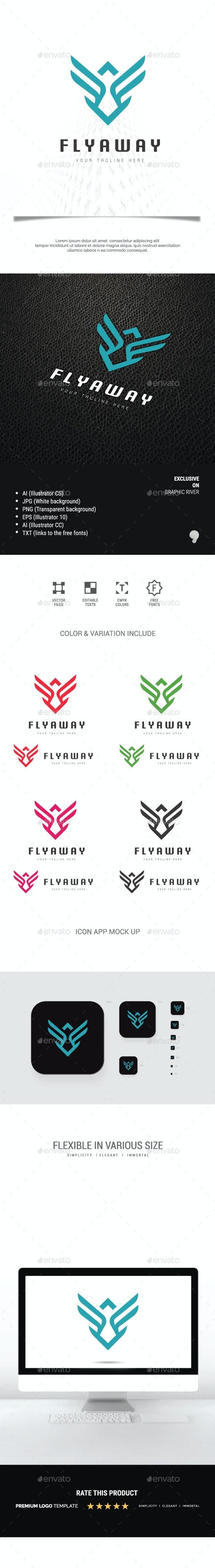 Fly Away Logo - Symbols Logo Templates