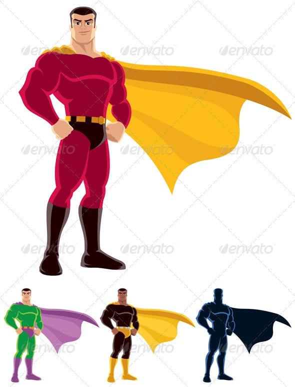 Superhero - People Characters