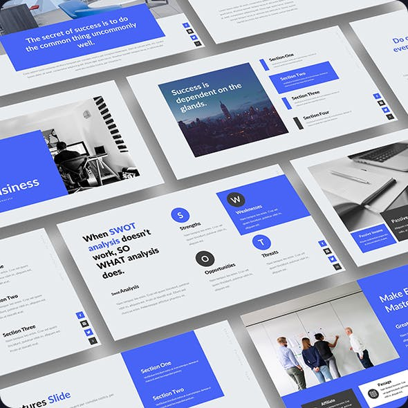 OneBusiness PowerPoint Template