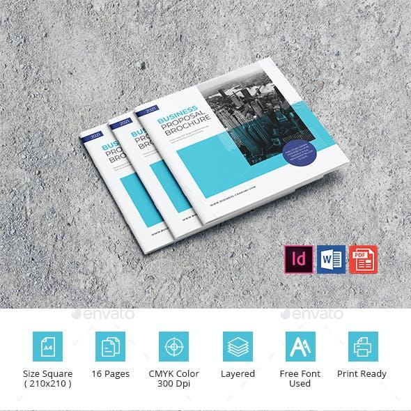 Business Proposal Brochure