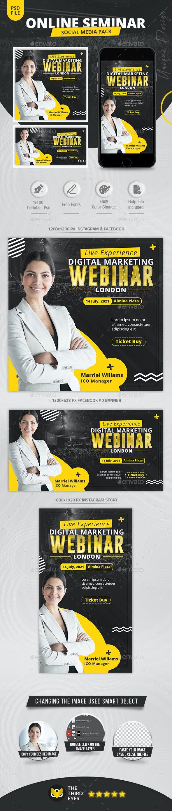 Online Seminar Social Media - Social Media Web Elements