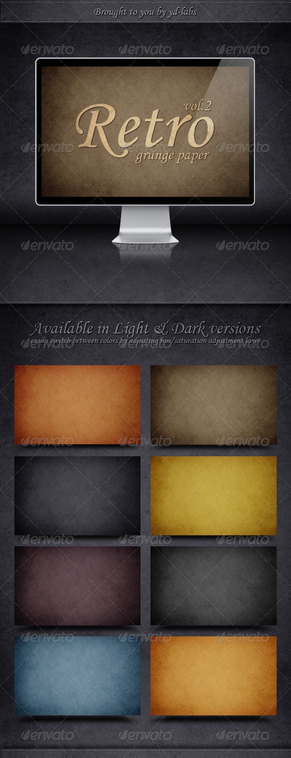 Retro Grunge Paper - Abstract Backgrounds