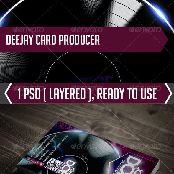 Deejay Card Producer