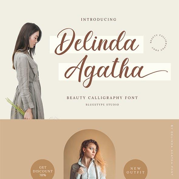 Delinda Agatha - Beauty Script Calligraphy