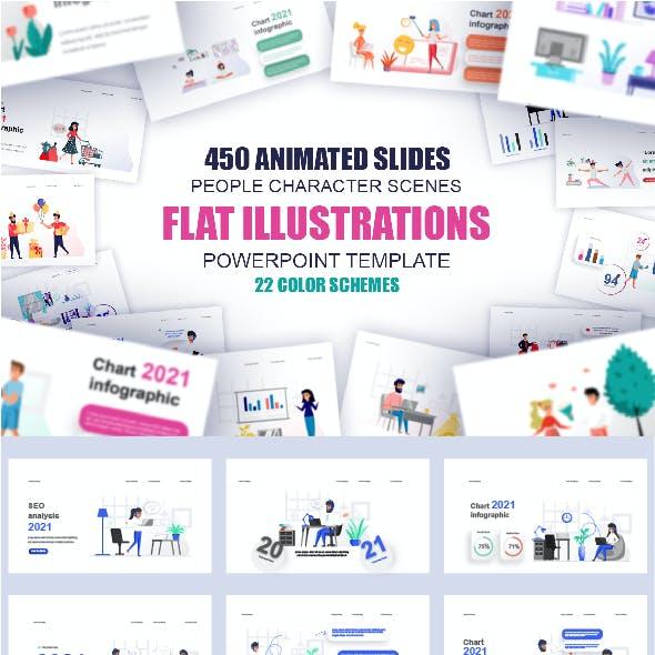 Presentation Powerpoint Animated Illustrations