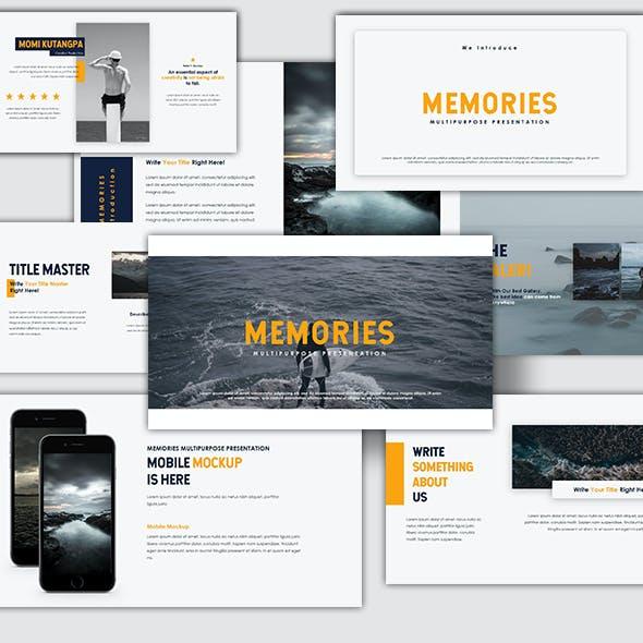 Memories Multipurpose Presentation