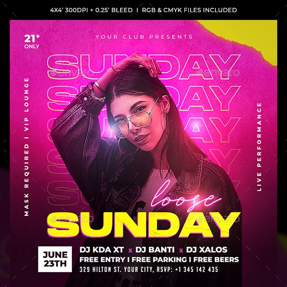 Urban Party Flyer Template