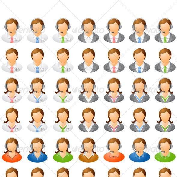 Human Icon Set