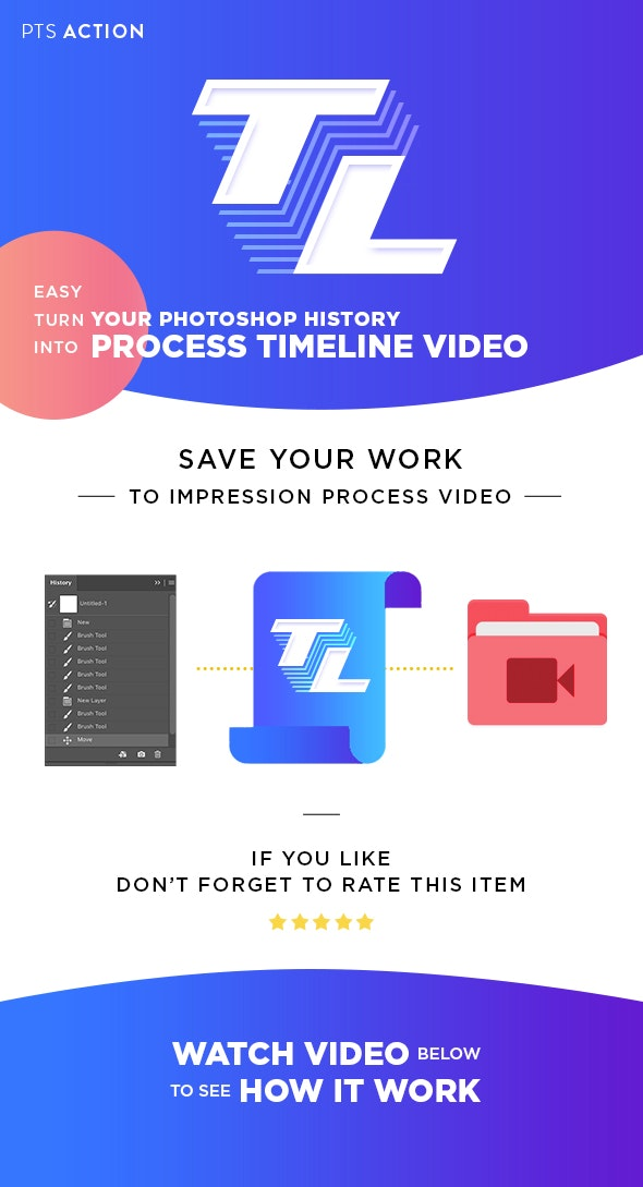 Timeline - Actions Photoshop