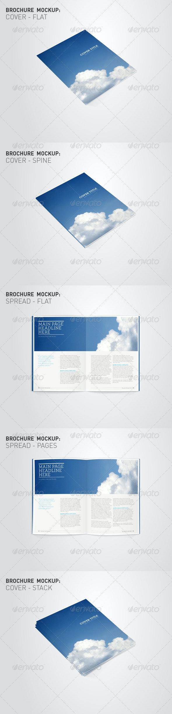 Brochure Mockup Visuals - Brochures Print