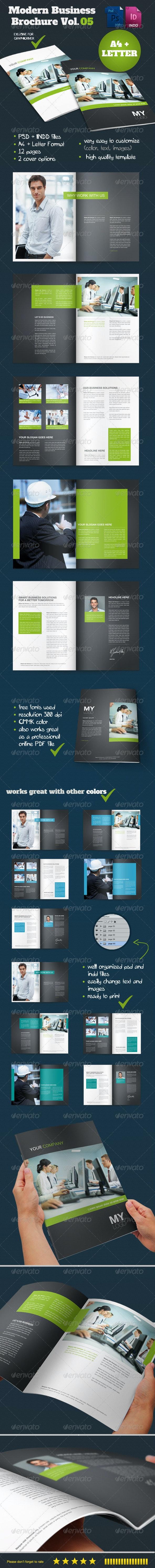 Modern Business Brochure Vol. 05 - Corporate Brochures