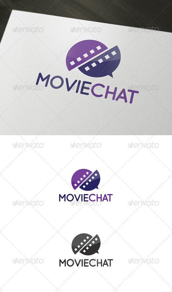 Movie Chat Logo - Abstract Logo Templates