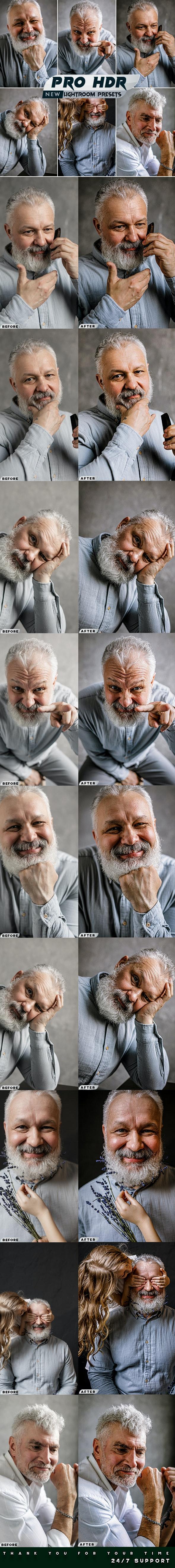 PRO HDR Lightroom Presets - Portrait Lightroom Presets