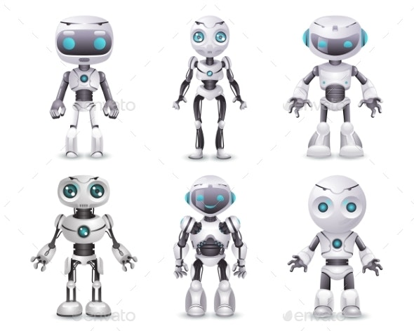 Science Fiction Artificial Intelligence Robot - Technology Conceptual