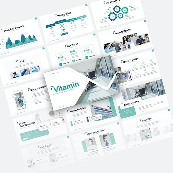 Vitamin Medical Presentation Template