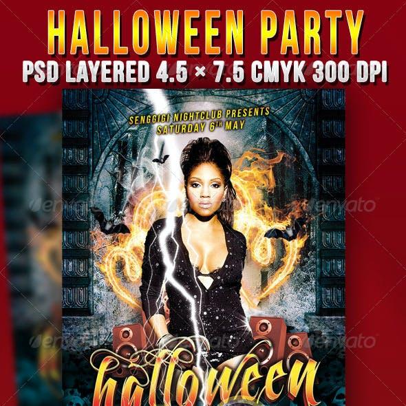 Halloween Flyer