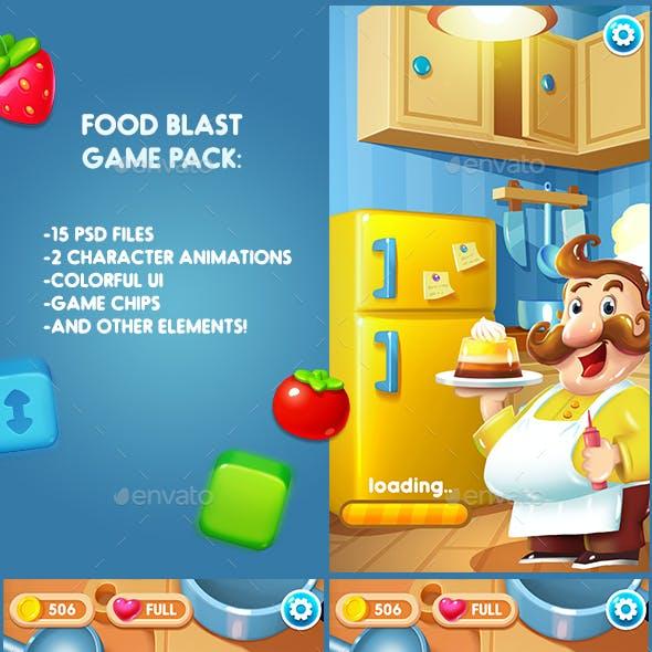 Food Blast Game Pack