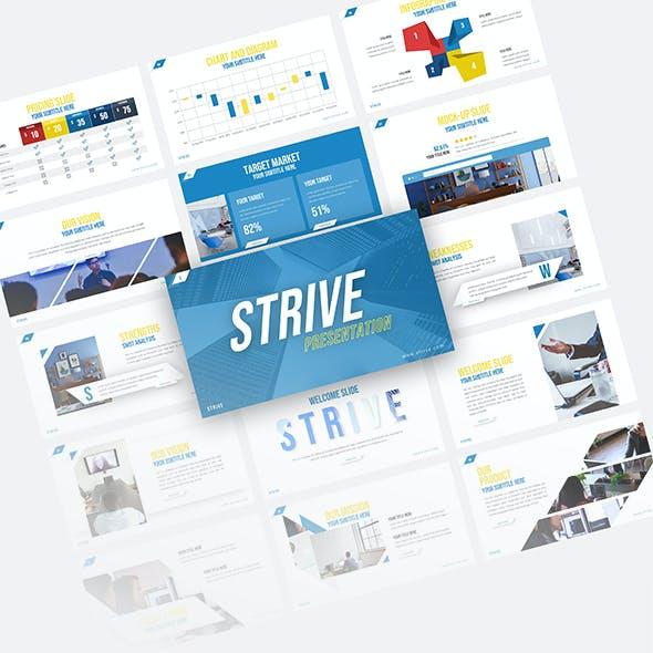 Strive Corporate Presentation Template