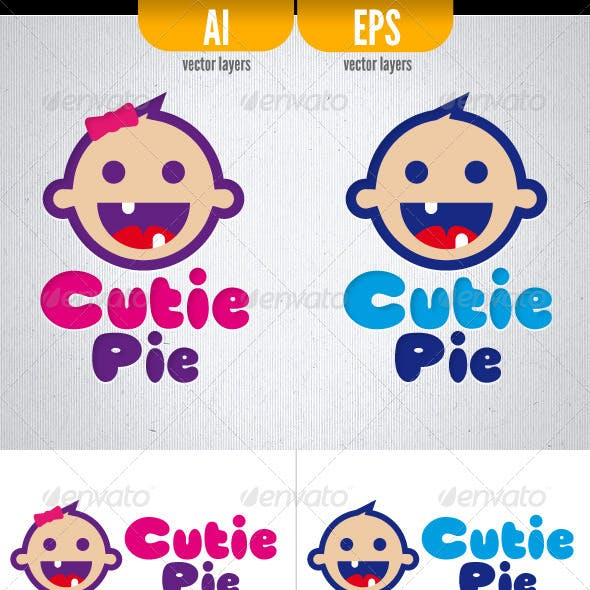 Cutie Pie - Logo Template
