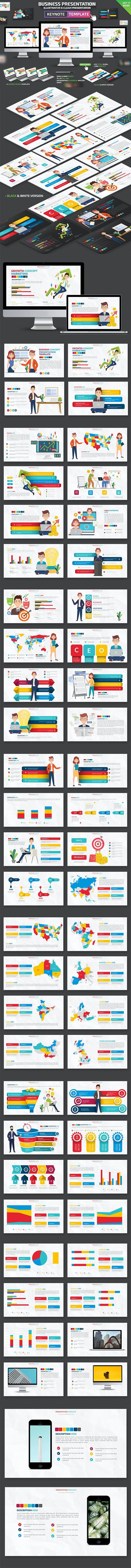 Business Keynote Presentation - Keynote Templates Presentation Templates