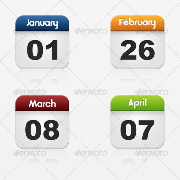 Web Icon Calendar